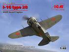 ICM 1/48 Polikarpov i-16 TIPO 28 II Guerra Mundial soviético LUCHADOR #48098