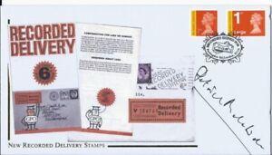 2009 Signed Patrick Malahide Buckingham FDC Cover