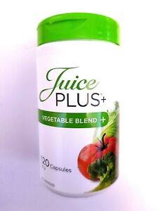 NEW SEALED JUICE PLUS+ Vegetable Blend 2 Month Supply 120 Capsules EXP 02/2023