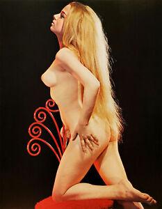 "Susumu Matsushima RARE Vintage Nude Caucasian Girl 1968 - 17""x22"" Fine Art Print"