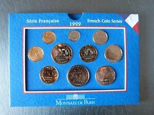 coffret BU serie Française FRANC 1999 Monnaie de Paris