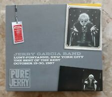 Jerry Garcia Band Pure Jerry, Lunt-Fontanne, 15.-30.10.87, 3 CD, Grateful Dead