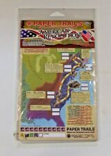 American Revolution Paper Trails Strategy Game A Strategic Pencil And Dice Game
