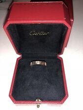 Cartier love ring, rose gold with diamond, size 60 (9)
