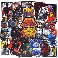 50pcs New Super Cool Star Wars Stickers for Luggage Laptop Decal Skateboard PVC