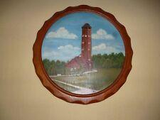 Varel Feuerwehrturm - Gemälde auf Holz