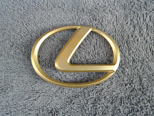 OEM Lexus Body/Dash/Trunk Emblem. 9.7cm GOLD Color