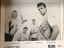 Lonestar ~ Hand Signed Autograph 8x10 Photo~ Richie McDonald