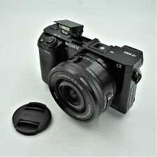 Sony Alpha a6000 Mirrorless Digital Camera with 16-50mm Power Zoom Lens **USED**