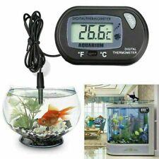 LCD Digital Fish Tank Reptile Aquarium Water Meter Thermometer Temperature Top