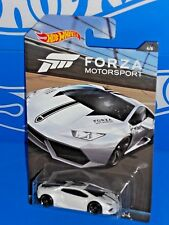 Hot Wheels 2017 FORZA Motorsport Series #4 Lamborghini Huracan LP 610-4 White