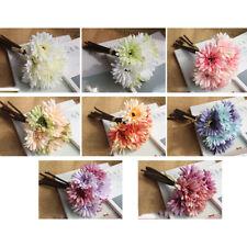 30Pc 4cm Seta Artificiali Gerbera Margherita Teste Di Fiore per Decorazione Nozze Craft