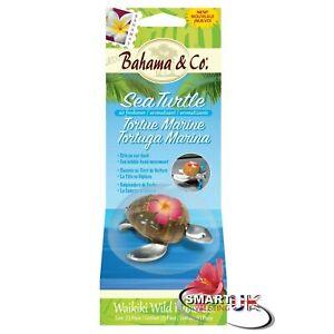 Bahama & Co Sea Turtle Bobble Head Car Air Freshener Freshner Fragrance Scent