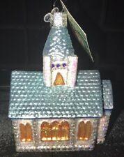 Church Ornament Glass Old World Christmas 20019 11