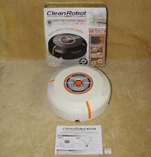 BOXED CLEAN ROBOT AUTOMATIC CLEANER 23cm BOXED GREAT GIFT IDEA WHITE GC