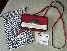 Brighton Cachet Collection Organizer Wallet Red / Black / White Crossbody