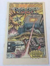 1984 Matchbox insert promo comic ~ FLASH FORCE 2000