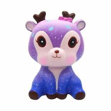 Purple Deer Squishy Toy Slow Rising Scented Stress Reliever Cute Gift for Kids