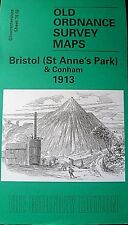 OLD ORDNANCE SURVEY DETAILED MAP BRISTOL ST ANNES PARK   1913 SHEET 76.02 NEW