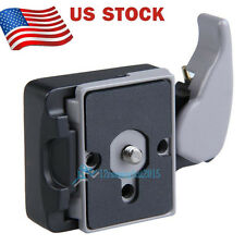 Camera 323 RC2 System Quick Release Plate Mount For Manfrotto Tripod 200PL-14
