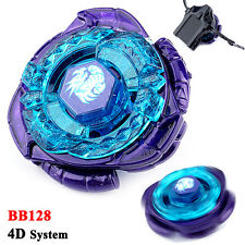 BEYBLADE Metal Master 4D System RAPIDITY FUSION FIGHT MASTER BB128 With Launcher