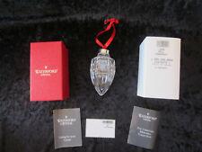 MIB Waterford Crystal 1996 Ball Ornament