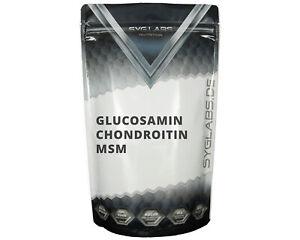 (5,32€/100g)Syglabs Glucosamin Chondroitin MSM 750mg - 500 Tabletten Vitamin C