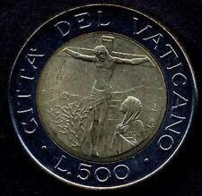 VATICANO Giovanni Paolo II 500 Lire bimet 1987  FDC UNC