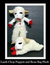 Lambchop Plush Full Body Hand Puppet and Plush Bean Bag Lambchop Aurora 2004
