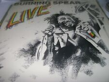 BURNING SPEAR 'Live' 1977 Island RECORDS VINYL 9513 SEALED US Press Reggae LP