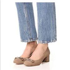 Michael Kors Shoes  Kiera Flex Tan Beige Suede Mid Pump Shoes Bows Sz 6 heels