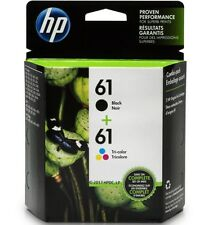 *Genuine* HP 2 ink Cartridges [HP 61 Black ink CH561WN + Tri-Color Ink CH562WN]