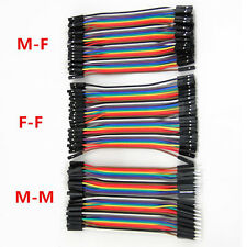 120Pc Set Male to Female Dupont wire cables Jumpers Cable Breadboard For Arduino