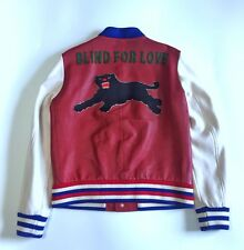 Gucci Blind For Love Bomber Leather Jacket