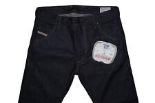 Diesel Krooley 008QM Slim Zanahoria Jeans W31 L32 100% Auténtico