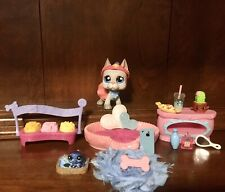 Authentic Littlest Pet Shop Rare #1688 Great Dane w/ Galaxy Otter~🍎 iPhone🐾