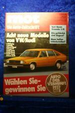 MOT 26/76 Ford Granada 2,8i VW Derby Iltis Passat Audi Avant Diesel Coupe Ro 80