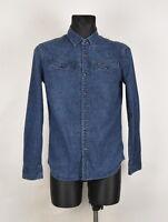 G-Star Suit Hommes Chemise en Jeans Taille M, Véritable