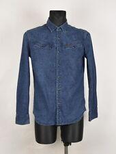 G-Star Tailor Uomo Camicia di jeans TAGLIA M, ORIGINALE