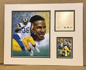 St. Louis Rams Jerome Bettis 1995 NFL Football 11x14 MATTED Kelly Russell Print