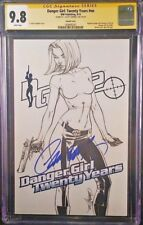 IDW Comic DANGER GIRL TWENTY YEARS #1 CGC SS 9.8 J Scott Campbell Sketch Variant