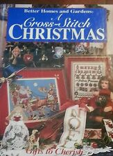 BOOK - A Cross-Stitch Christmas - Gifts to Cherish- 128 pages of CS patterns