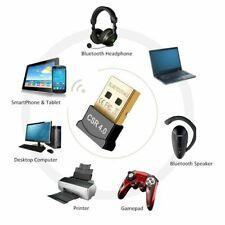 LOT Mini USB Bluetooth Adapter Donlge CSR Receiver Windows 10/8/7/XP 5.0 4.0 2.0