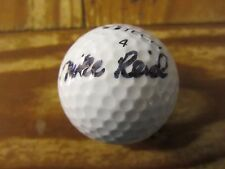 Mike Reid Golfer Autographed Signed Beta Ti Tech Golf Ball PGA Tour