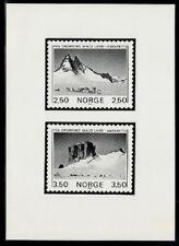 Photo Essay, Norway Sc855-6 Antarctic Mountain, Dog.
