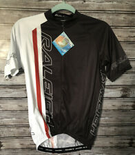 Men's Sz Small Raleigh Cycling Shirt Top With Back Pockets HO Cooling