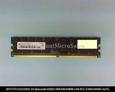 Qimonda HYS72T512220EP-3S DDR2 4GB PC2-5300 Reg ECC 667Mhz 2Rx4 RAM Memory