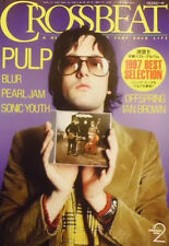 Crossbeat Japan Feb/1998 Pulp Blur Pearl Jam Sonic Youth Offspring Ian Brown