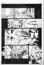 RTX-RED ROCK COMIC 1 pg 18 original art by ADRIANA MELO