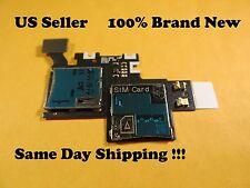 Samsung Galaxy Note 2 ll i605  Sim Card Tray Holder Memory Slot Flex Cable